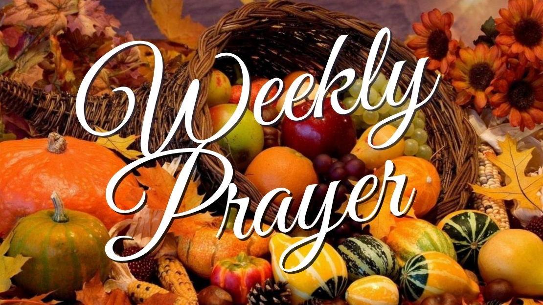Weekly Prayer November 23